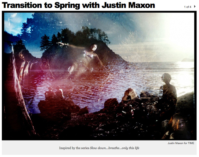 Justin Maxon on TIME Lightbox